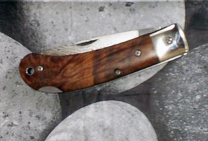 custom folding knife lockback