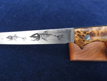 custom fishing knives