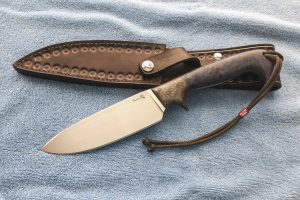 Sandstorm custom survival knife.