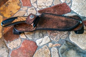 Sandstorm Knives Leather Sheath